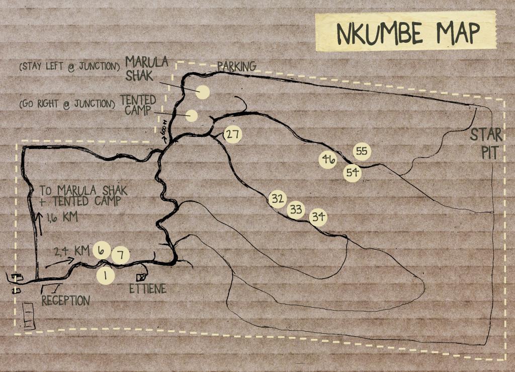 Nkumbe Map